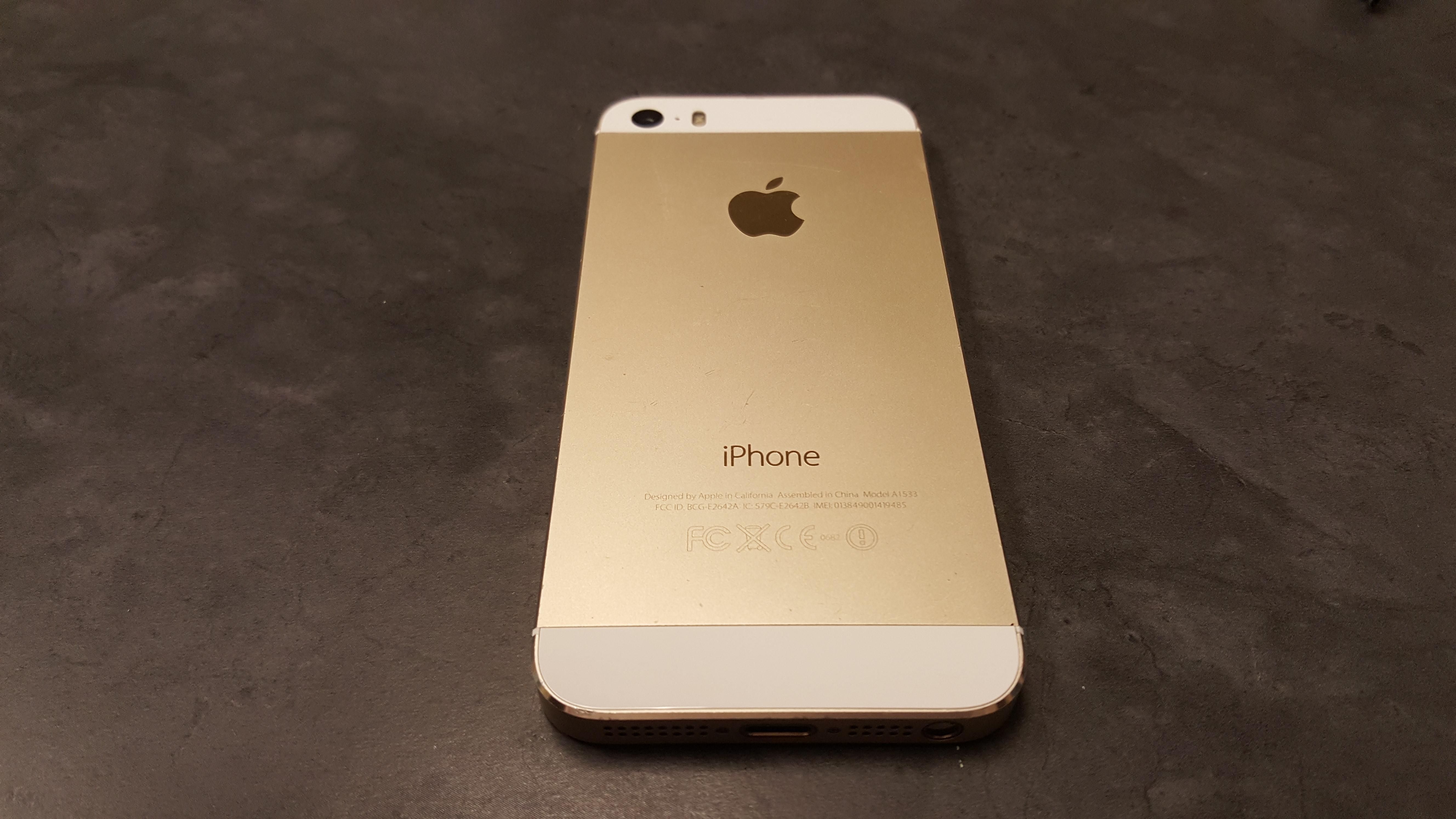 apple iphone 5s gold 32gb t mobile unlocked smartphone. Black Bedroom Furniture Sets. Home Design Ideas